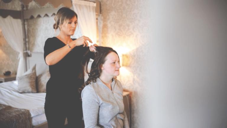 Styling Bridal Hair
